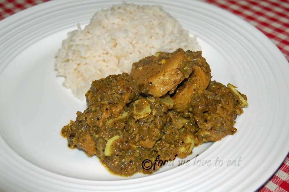 Kerala Pork Curry
